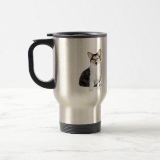 Welsh Corgi (Tri Color) Travel Mug