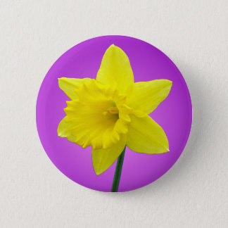 Welsh Daffodil - III - Round 2 Inch Round Button