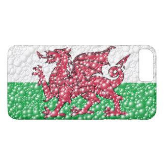 Welsh Dragon Bubble Texture Flag Case-Mate iPhone Case