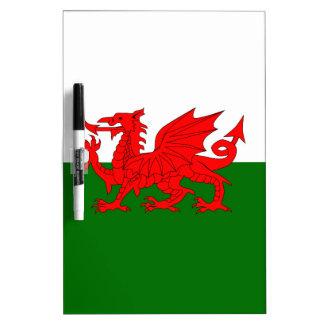 Welsh Dragon Flag Dry Erase Boards