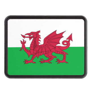 Welsh dragon flag hitch covers