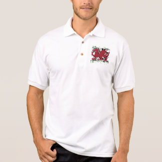 Welsh Dragon Polo Shirt