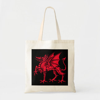 WELSH DRAGON TOTE BAG
