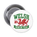 Welsh Drinking Team 2 Inch Round Button