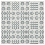 Welsh Faux Tapestry Slate on Grey Pattern Fabric