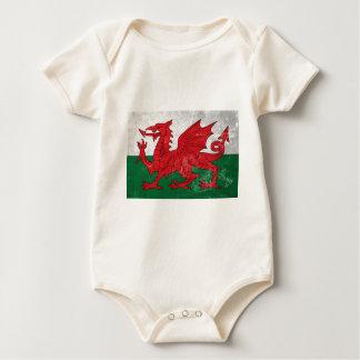 Welsh Flag Baby Bodysuit