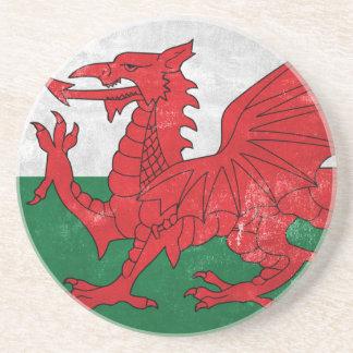 Welsh Flag Coaster