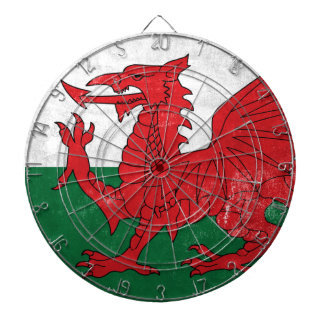 Welsh Flag Dartboard