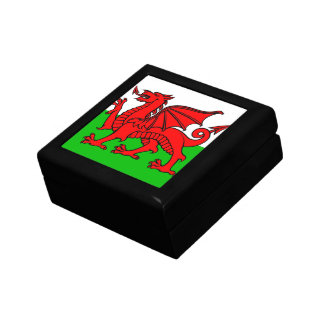 Welsh flag gift box