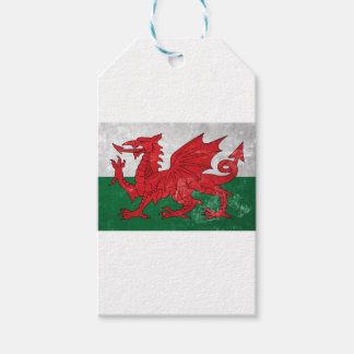 Welsh Flag Gift Tags