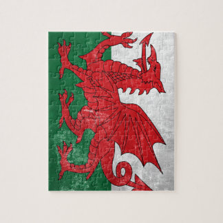 Welsh Flag Jigsaw Puzzle