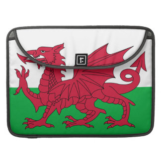 Welsh Flag Macbook Pro Flap Sleeve