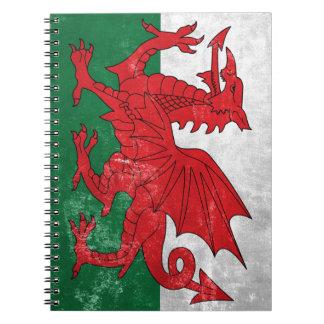 Welsh Flag Notebooks