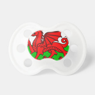 Welsh-Flag Pacifier