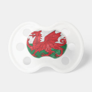 Welsh Flag Pacifier