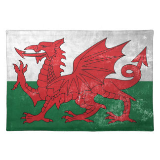 Welsh Flag Placemat