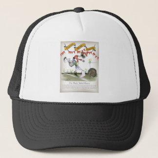 welsh football right winger trucker hat