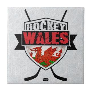 Welsh Ice Hockey Shield Tile