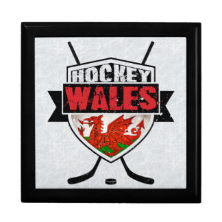 Welsh Ice Hockey Shield Tile Box