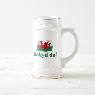Welsh Iechyd da (Cheers!) Beer Steins