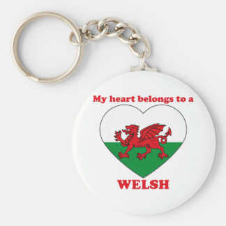 Welsh Keychain