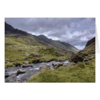 Welsh Landscape Card