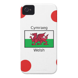 Welsh Language And Wales Flag Design Case-Mate iPhone 4 Cases