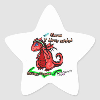 Welsh Narcolepsy Dragon Stickers