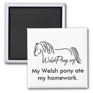 Welsh Pony & Cob Society of America Magnet
