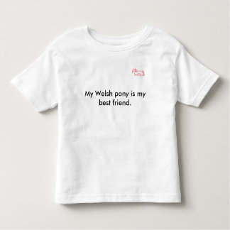 Welsh Pony Cob Society of America Toddler T-shirt