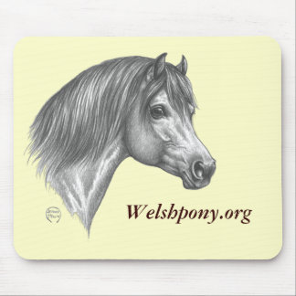 Welsh pony mouse pad