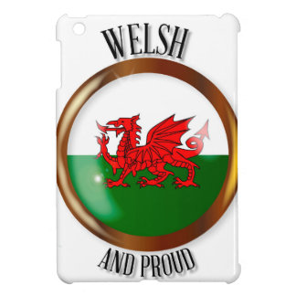 Welsh Proud Flag Button Case For The iPad Mini