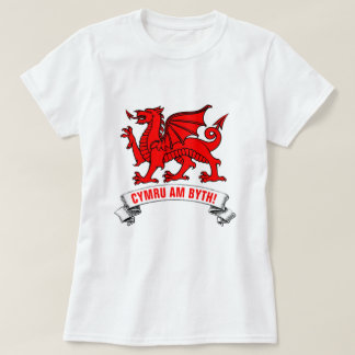 Welsh Red Dragon Wales Forever T-Shirt