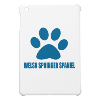 WELSH SPRINGER SPANIEL DOG DESIGNS iPad MINI CASES