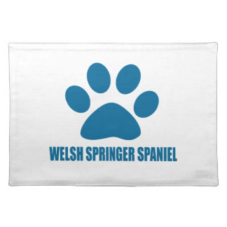 WELSH SPRINGER SPANIEL DOG DESIGNS PLACEMAT