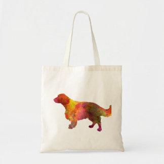 Welsh Springer Spaniel in watercolor Tote Bag