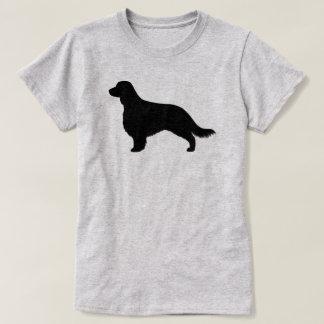 Welsh Springer Spaniel Silhouette (Long Tail) T-Shirt