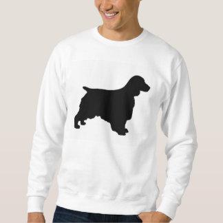 Welsh Springer Spaniel silo black Sweatshirt