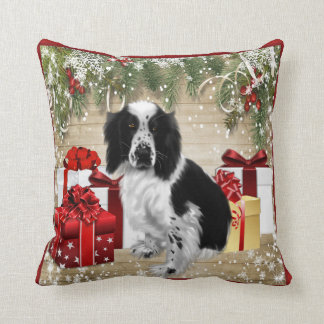 WELSH SPRINGER SPANIEL THROW PILLOW