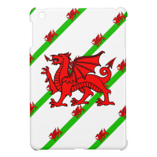 Welsh stripes flag iPad mini case