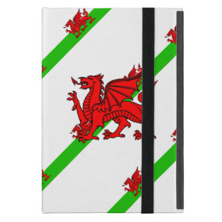 Welsh stripes flag iPad mini cover