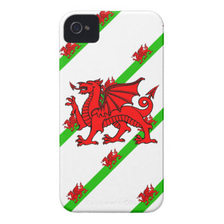 Welsh stripes flag iPhone 4 covers