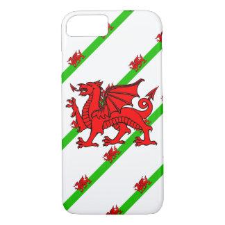 Welsh stripes flag iPhone 8/7 case