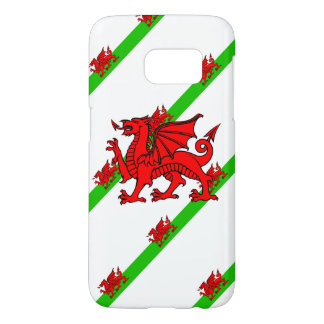 Welsh stripes flag samsung galaxy s7 case