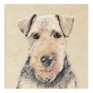 Welsh Terrier Acrylic Wall Art