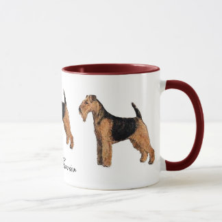 Welsh Terrier Ceramic Mug