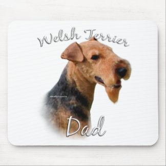 Welsh Terrier Dad 2 Mouse Pad