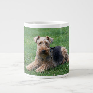 Welsh Terrier dog cute photo beautiful jumbo mug