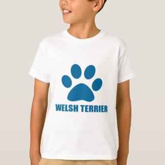WELSH TERRIER DOG DESIGNS T-Shirt