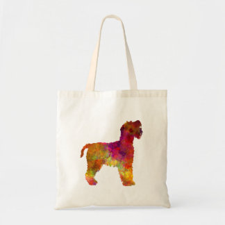 Welsh Terrier in watercolor Tote Bag